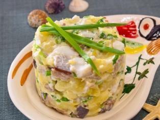 Салат c селедкой и картофелем рецепт