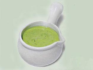 Соус из петрушки к грибному супу