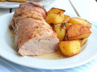 Свиная вырезка с картофелем рецепт