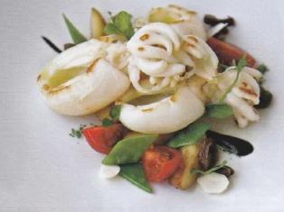 салат с каракатицей рецепт