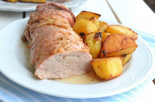 мясо с картошкой в пакете для запекания в духовке
