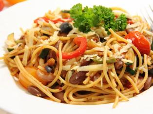 Вегетарианские спагетти